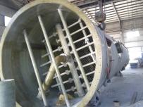 云南天冶化工氯碱项目玻璃钢储罐、洗涤塔