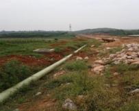 云南嵩明县玻璃钢供水管线